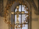 Basilika Rankweil - silbernes Kreuz