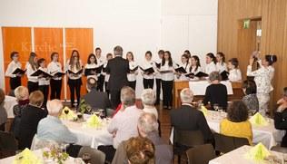 Vorschaubild Ehrung für KirchenmusikerInnen - April 2016