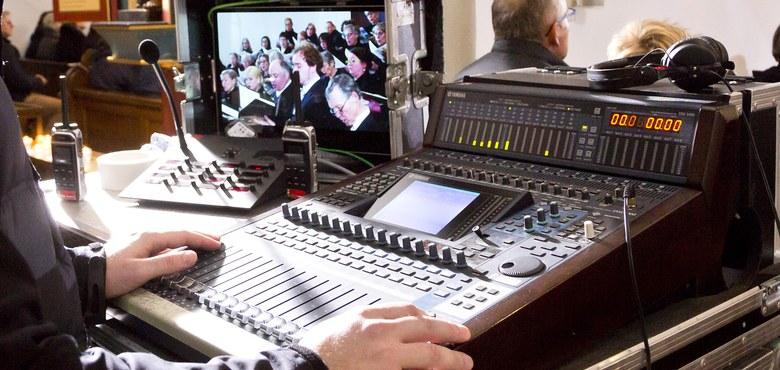 Gottesdienst mit Radioübertragung