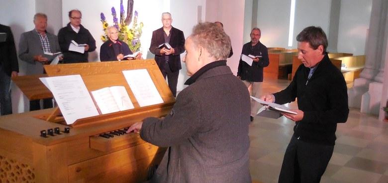 14. Gregorianik-Workshop in Gwiggen