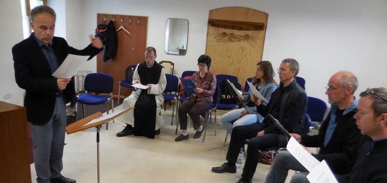 Gregorianik-Workshop mit Michael Wersin