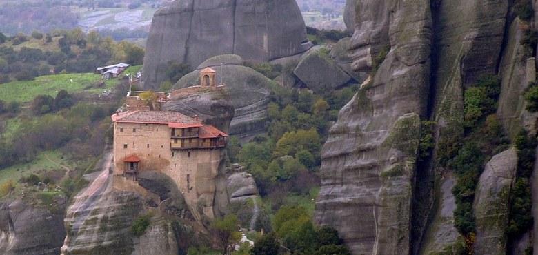 Von man zu Mann - Meteora, Männer, Griechen und Ostern