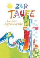 Taufkarte - Beuroner Kunstverlag
