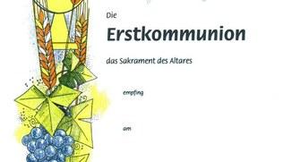 Vorschaubild Urkunden Erstkommunion