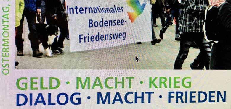 Bodenseefriedensweg 2018 in Bregenz