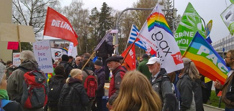Ostermontag 2018: Ein starkes Zeichen für den Frieden