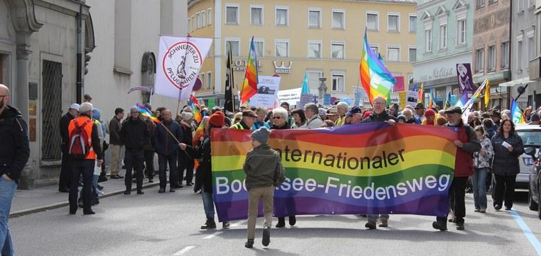 """Friedensweg 2017: """"Unser Weg - von der Kriegslogik zu einer Friedenskultur"""""""