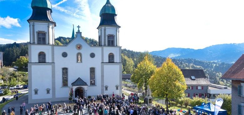 Ehrentag der Basilika in Bildstein – Großes Wallfahrtsfest am Wochenende