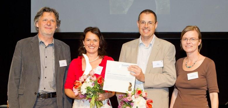 eltern.chat mit Sozialmarie 2012 ausgezeichnet – 10.000 Euro für die Elternbildung