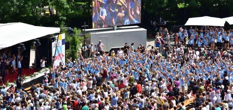 """Schön war's – 15.000 Besucher/innen beim """"Fest am See – 50 Jahre Diözese Feldkirch"""""""