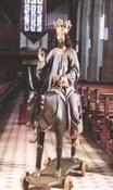 Figur  - Jesus auf Esel