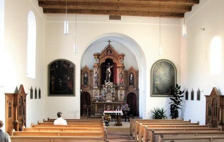 Kapuzinerkloster Feldkirch - innen