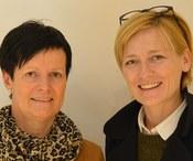Maria Madlener und Evelin Bayer
