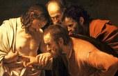Photo:  Caravaggio, The Incredulity of Saint Thomas-Caravaggio (1601-2), Zuschnitt, CC0 1.0