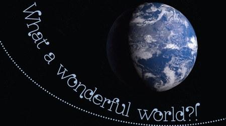 Plakat-Ausschnitt-world