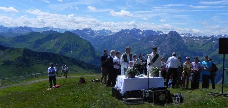 Bergmesse am Diedamskopf