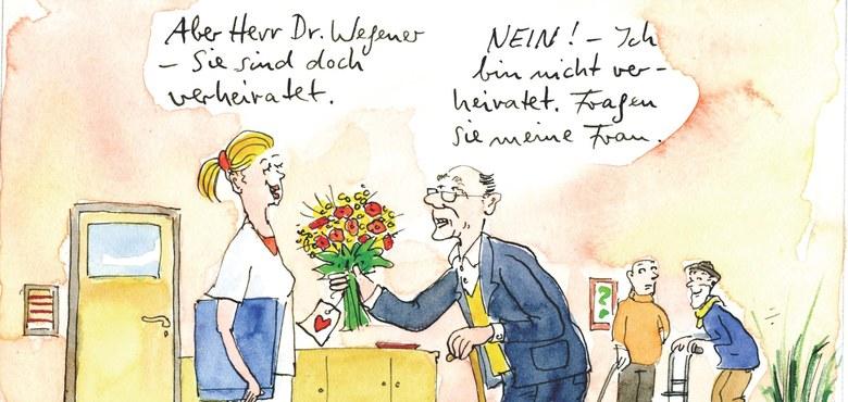 Humor in der Pflege - Vortrag und Ausstellung