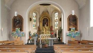 Vorschaubild Großputz der Pfarrkirche Andelsbuch