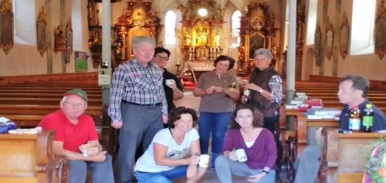 Kirchenreinigung in Braz