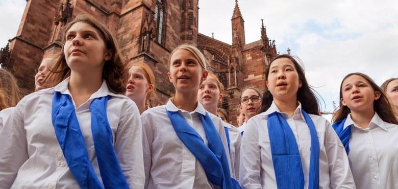 Abendmusik im Dom - Mädchenkantorei am Freiburger Münster