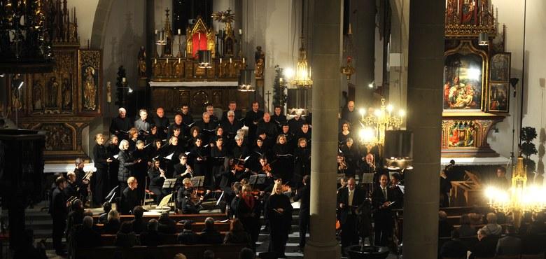 Konzert Kantaten von J.S. Bach