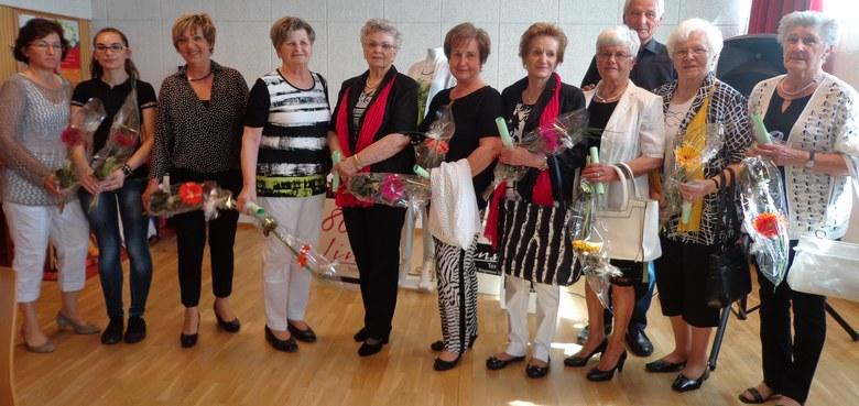 Seniorennachmittag am 21.4. 2015 mit Modeschau