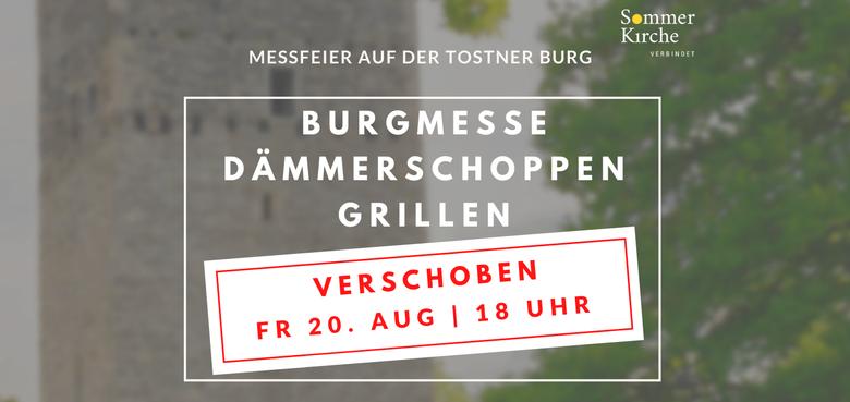 Burgmesse mit Dämmerschoppen der HM Tisis-Tosters