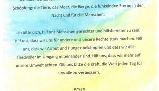 Vorschaubild Friedensweg - Was mir am Herzen liegt - Gebete der Firmlinge 2021