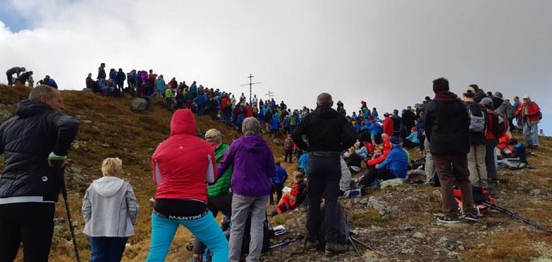 Bergmesse am Kreuzjoch