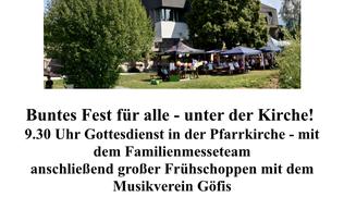 Vorschaubild Pfarrfest Göfis Einladung