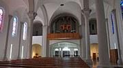 Wenn man die renovierte Kirche von Götzis betritt, offenbart sich ein neuer Raum.