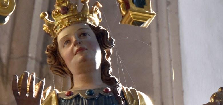 Hl. Katharina | Götzis Alte Kirche