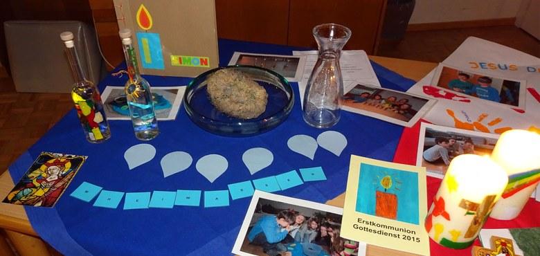 Erstkommunion Tischrunden