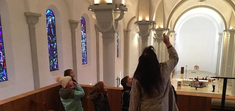 Kirchenrallye der Erstkommunionkinder