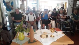 """Vorschaubild Hl. Messe mit der Wohngruppe """"Kapf 1"""""""