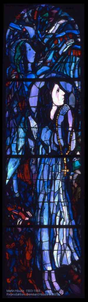 Kirchenfenster St. Ulrich Götzis | Martin Häusle