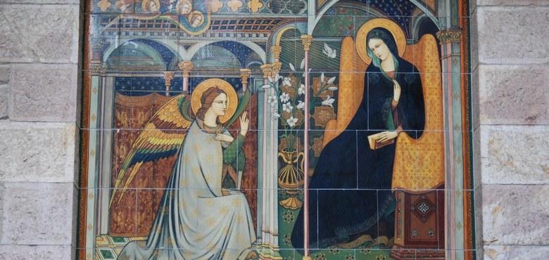 """""""Fürchte dich nicht, Maria, denn du hast bei Gott Gnade gefunden"""""""