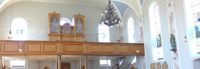 Orgel Pfarrkirche Hittisau