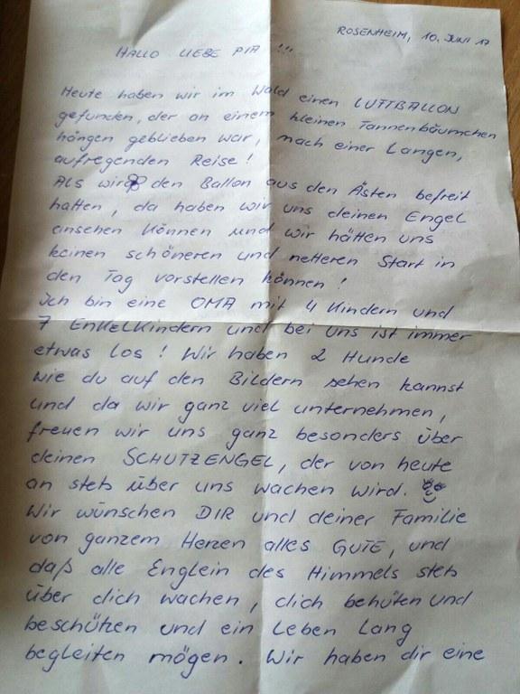 Pia Brief Lange Nacht