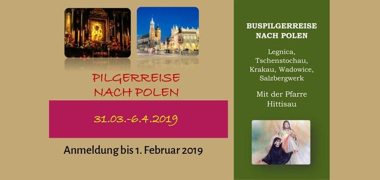 Pilgerreise nach Polen