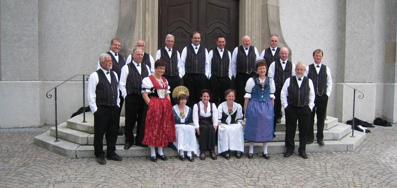 Messe mit dem Jodlerclub Rorschach, Achtung Wechsel Gottesdienstzeit wegen Erstkommunion in Gaißau