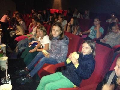 Mädchenchor Kino 2014/15
