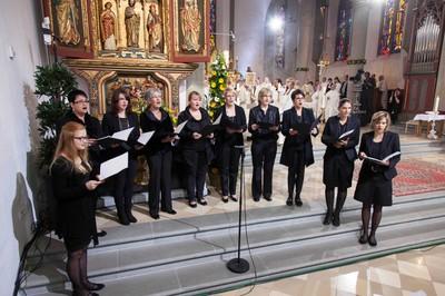 Kantorinnengruppe bei der Bischofsweihe am 30.05.2013 im Feldkircher Dom