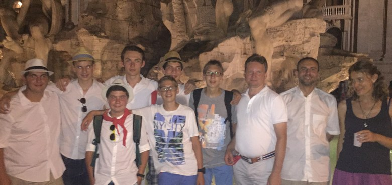 Internationale Ministranten-Wallfahrt nach Rom 2015