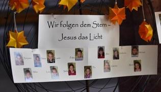 Vorschaubild Jesus das Licht - Erstkommunion 2018