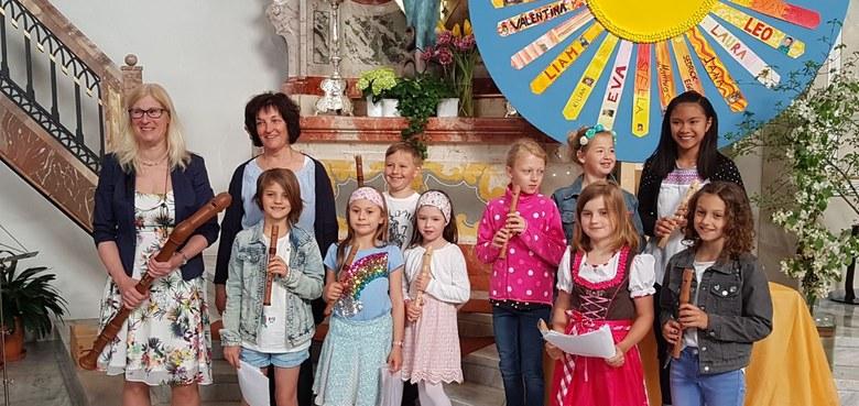Besuch der Musikschule Walgau
