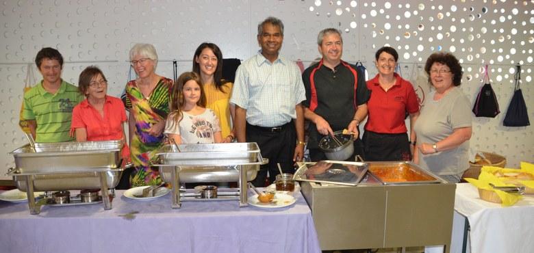 Pfarrers indische Küche bestens besucht