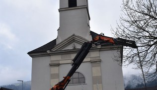 Vorschaubild Kirchturmsanierung