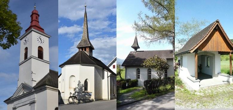 Pfarrkirche und Kapellen