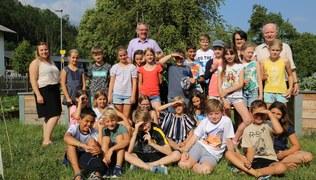 Vorschaubild Schlins: Pfarrkirchenexkursion 4. Klasse Volksschule 2019